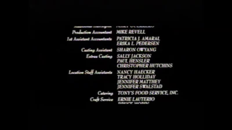 Movie End Credits 729 The Postman