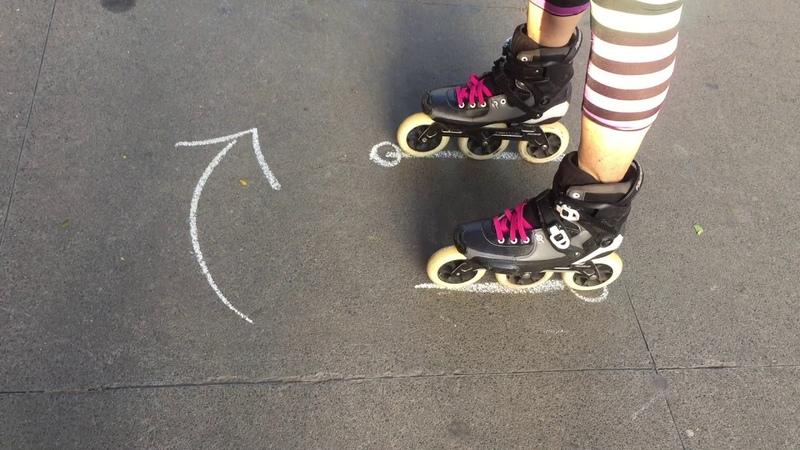 Cómo hacer un Giro Estático (un Spin) en patines inline de 360 grados o más.
