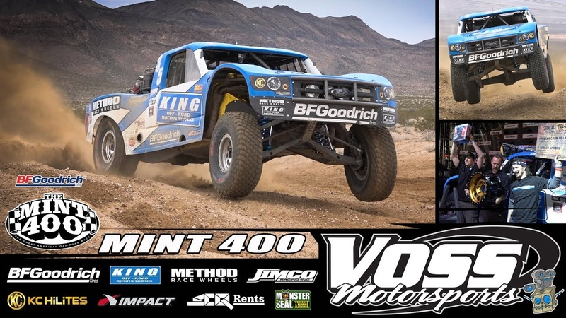 Voss Motorsports at the 2019 BFGoodrich Mint 400