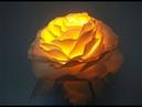 Ранункулюс светильник из изолона DIY / Бесплатный МК