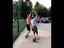 Old man with Awesome Basketball skill