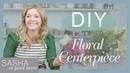 DIY Floral Arrangement for Easter and Spring | Sasha In Good Taste | Sasha Pieterse Sheaffer
