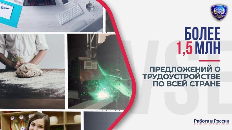 Государственный портал Работа в России