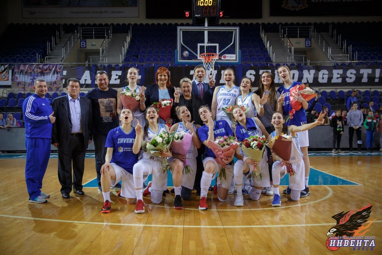 Курская «Инвента» завершила сезон на пятом месте