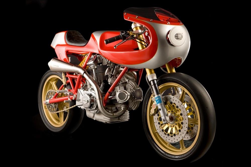 Stile Italiano: Кастом Ducatu MHR 1000
