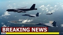 U S sent a B 52 bomber through the South China Sea for the first time in months
