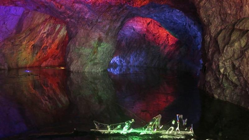 Колонный зал в Подземной Рускеале