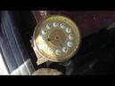 Нашел антикварные часы в гранитном корпусе