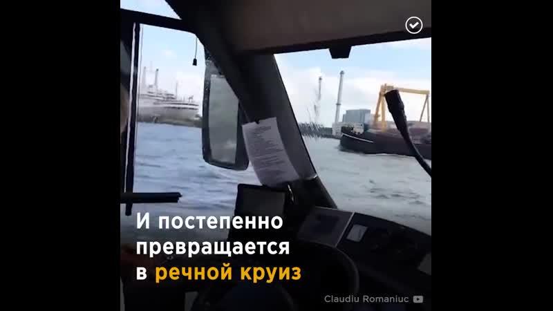 Автобус амфибия в Голландии fdnj ec fvab bz d ujkkfylbb