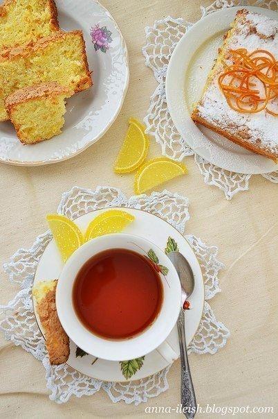 Апельсиновый кекс