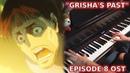 Shingeki no Kyojin 3 Part 2 EP 8 OST - GRISHA'S PAST SCENE/BARRICADES (Piano Orchestral Cover)