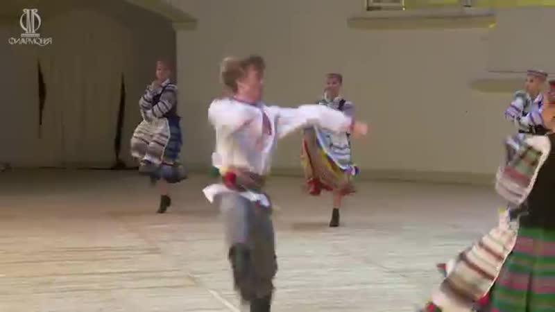 ГААНТ имени Игоря Моисеева. Белорусский танец Юрочка
