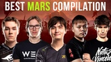 Zai vs Topson vs iceiceice vs Nana vs Dendi - Mars Battle Compilation - Dota 2