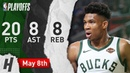 Giannis Antetokounmpo Full Game 5 Highlights vs Celtics 2019 NBA Playoffs - 20 Pts, 8 Ast, 8 Reb!