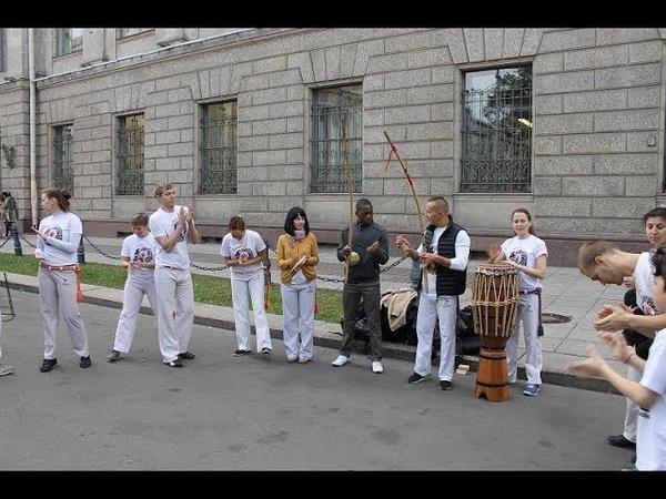 Участие в фестивале Живые улицы на площади Островского 27.09.2015