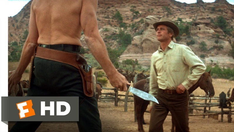 Butch Cassidy and the Sundance Kid 1969 Knife Fight Scene 1 5 Movieclips