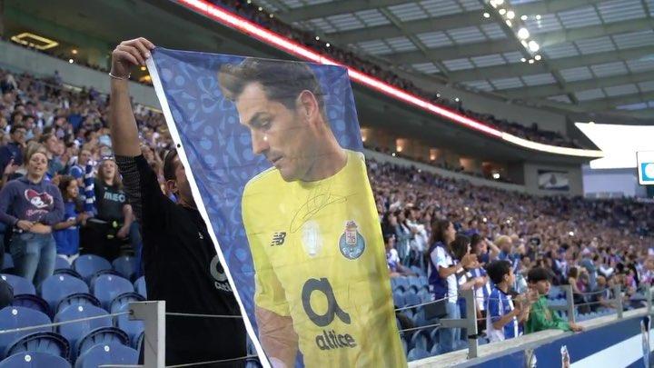 Фанаты «Порту» поддержали Касильяса