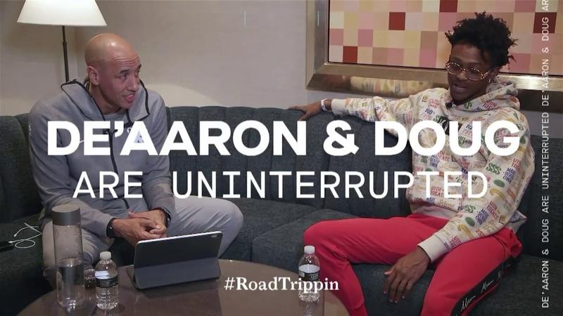 DeAaron Fox talks Final Four picks, Trae vs. Luka and his PS4 | Road Trippin