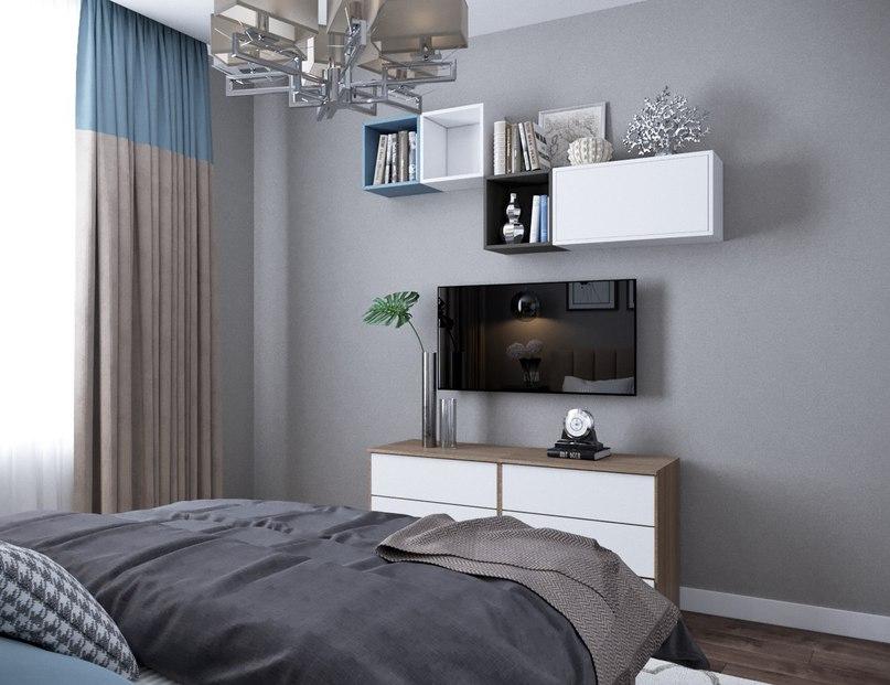 Спальня в деталях
