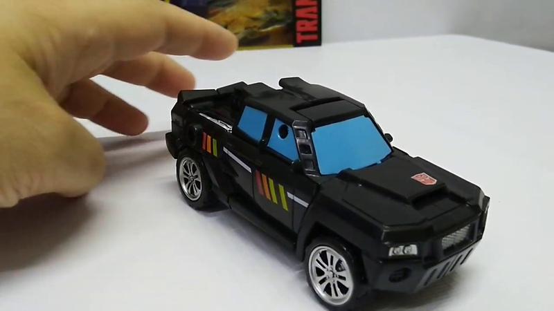 Обзор трансформера Trailbreaker Combiner Wars Deluxe Class Hasbro. Музей роботов-трансформеров.