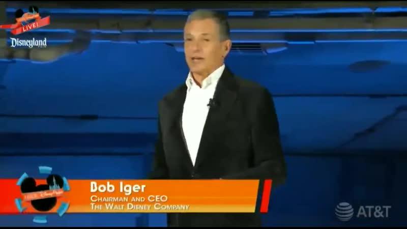 Bob Iger A unique mix of science fiction, 𝙧𝙤𝙢𝙖𝙣𝙩𝙞𝙘 𝙛𝙖𝙣𝙩𝙖𝙨𝙮 and grand adventure