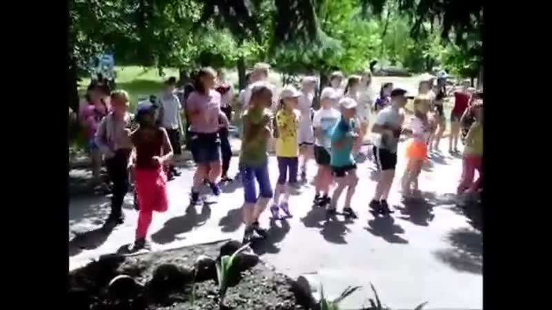 Танцювальний флеш-моб Ура,канікули! ✌🏻