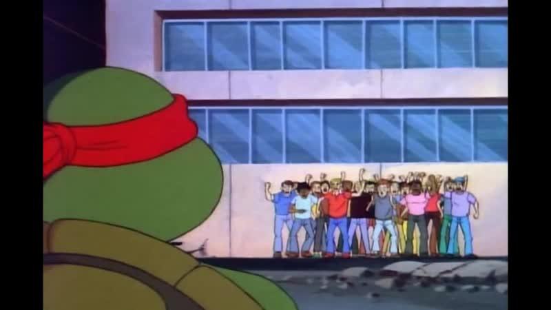 Никаких мутантов в нашем городе! - TMNT (1987)