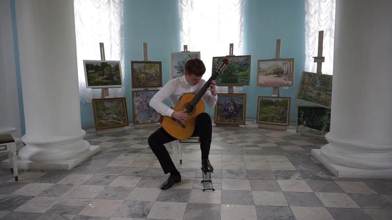 Luigi Legnani - Fantasia (perfomed by Gleb Sokolov)
