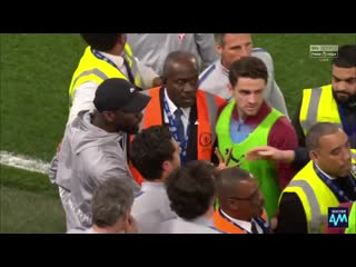 Antonio rüdiger was out there defending his manager dignity refusing to be insulted at his home