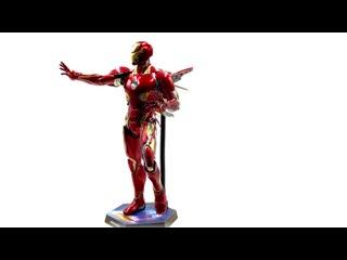 [misb media] hot toys mms473d23: avengers infinity war - iron man markl 1/6