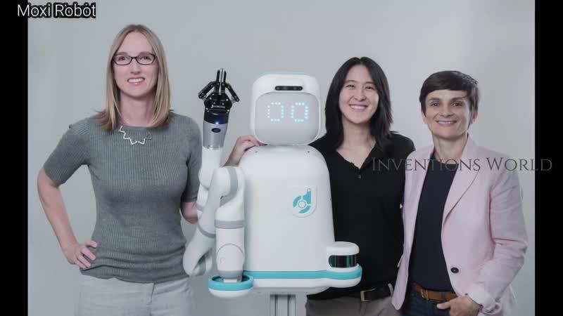 Moxi AI Nurse Robot Helping Clinical Staff as Hospital Robot Assistant