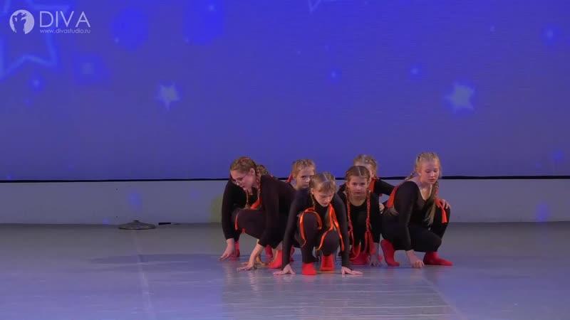 Джаз-модерн (8-12 лет), хореограф Наталья Варфаламеева - танцевальная школа DIVA Studio
