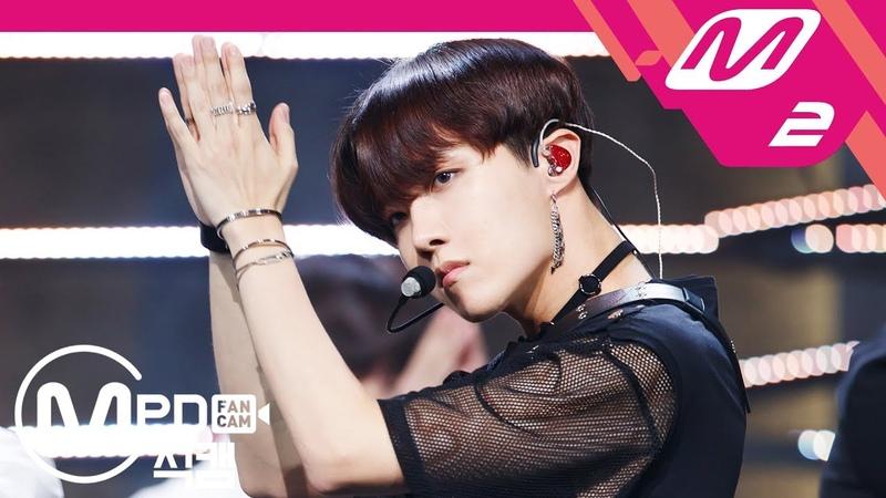 [MPD직캠] 방탄소년단 제이홉 직캠 4K 'FAKE LOVE' (BTS J-HOPE FanCam) | @MCOUNTDOWN_2018.5.31