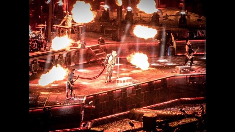 Rammstein - Ich Will (live in München Olympiastadion - 8 Juni 2019)
