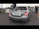 BRABUS 700 E63 AMG 4.0 V8 Biturbo - Accelerating, Drag Racing, SOUNDS!