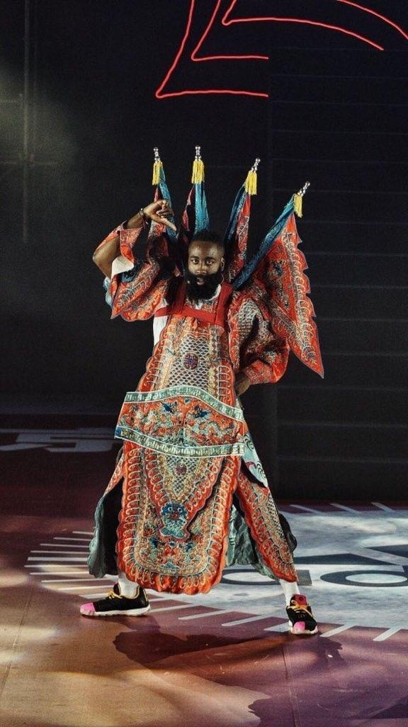 Джеймс Харден пропустил церемонию вручения наград НБА из-за визита в Китай