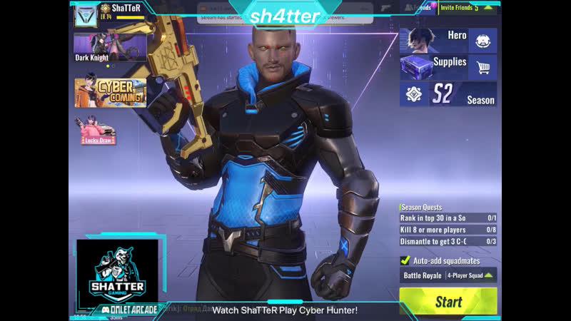 Watch ShaTTeR play Cyber Hunter
