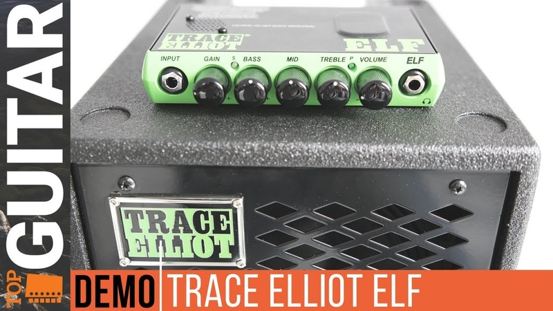 Звучание Trace Elliot ELF