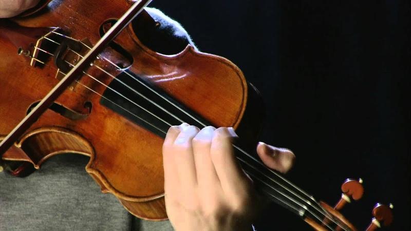 James Ehnes Violinist Cyril Scott Lotus Land Giuseppe Guarneri 'del Gesù' 1737 'King Joseph'