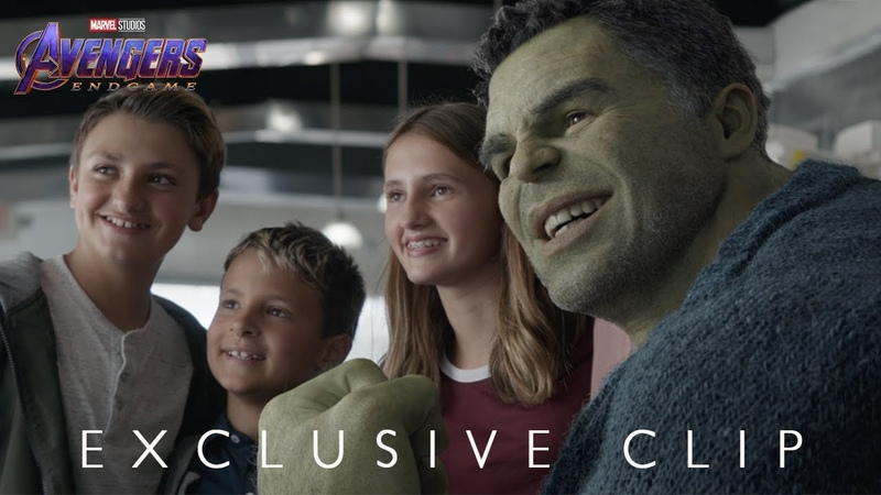 "Marvel Studios' Avengers Endgame Hulk Out"" Exclusive Clip"
