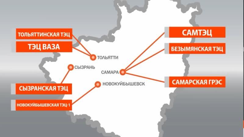 Крупные энергопроекты Самарской области-2019