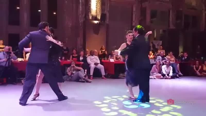 Sebastian Arce Valeria Maside and Anibal Lautaro Mariana Montes ❤@ 5th Antwerpen Tango Festival