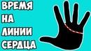 ДАТИРОВКА по ЛИНИИ СЕРДЦА (время на линии Сердца) / хиромантия / Кладезь Хиромантии