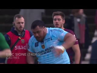 The heaviest players in rugby!