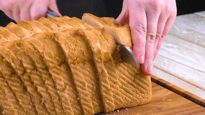 Белый хлеб превращается в классные закуски для большой компании. Супер!