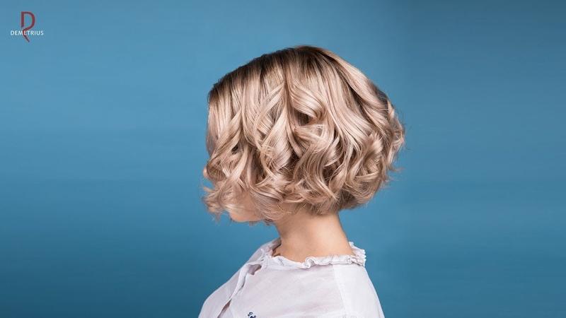 DEMETRIUS | Каре на густых и пористых волосах растяжка цвета | Каре без удлинения