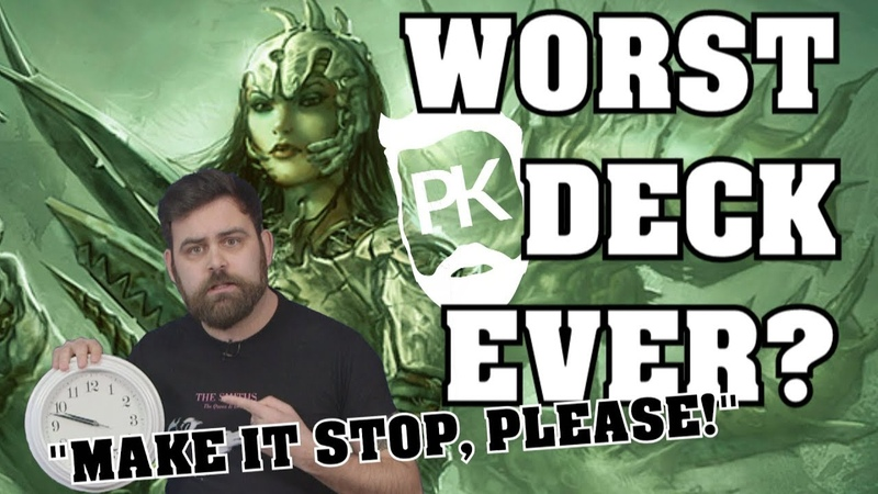 Worst. Deck. Ever - Modern Splicer Tribal - PK's Slow Play