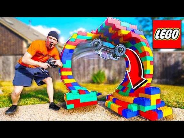 BUILDING A LEGO RC CAR LOOP *INSANE*