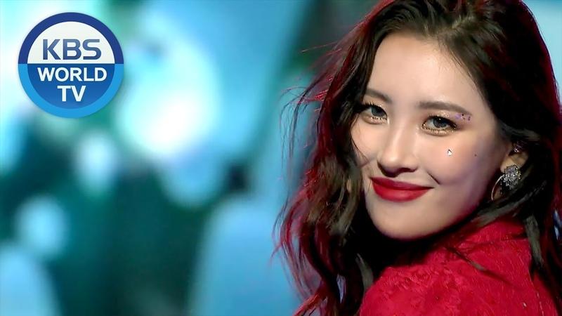 Sunmi - Siren   선미 - 사이렌 [2018 KBS Song Festival 2018.12.28]