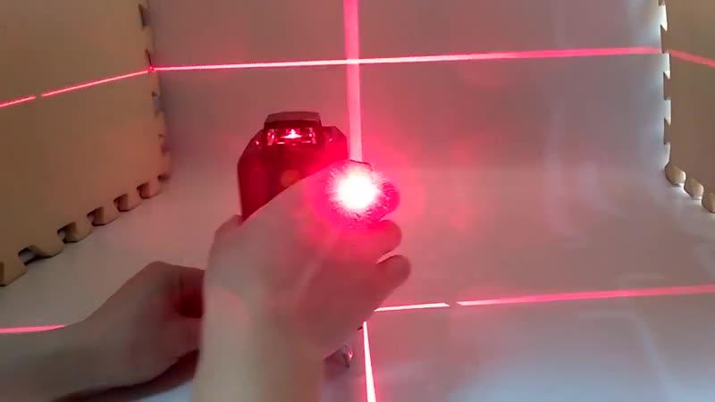 Лазерный уровень Fukuda 3D 360 12 линий